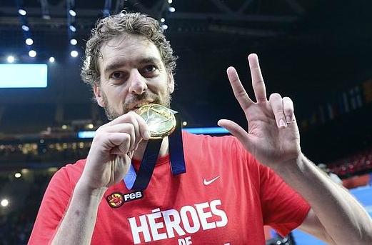 Pau Gasol campeón de Europa mejor jugador Eurobasket 2015