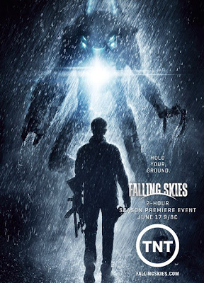 "Falling Skies Season 2 Teaser Poster - ""Hold Your Ground"""