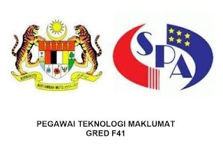 Pegawai Teknologi Maklumat Gred F41 SPA