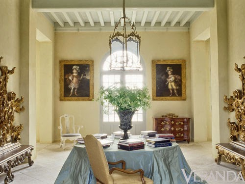 Interiors French Design Axel Vervoordt Chateau
