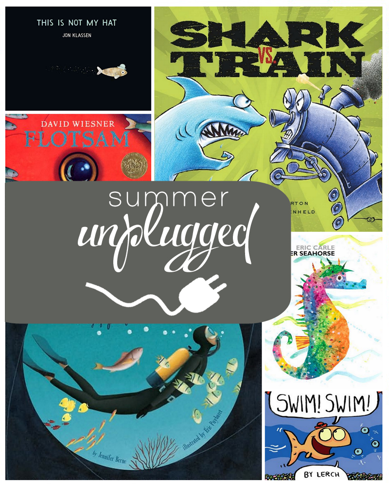 Ocean books and activities for kids (plus a giveaway!)