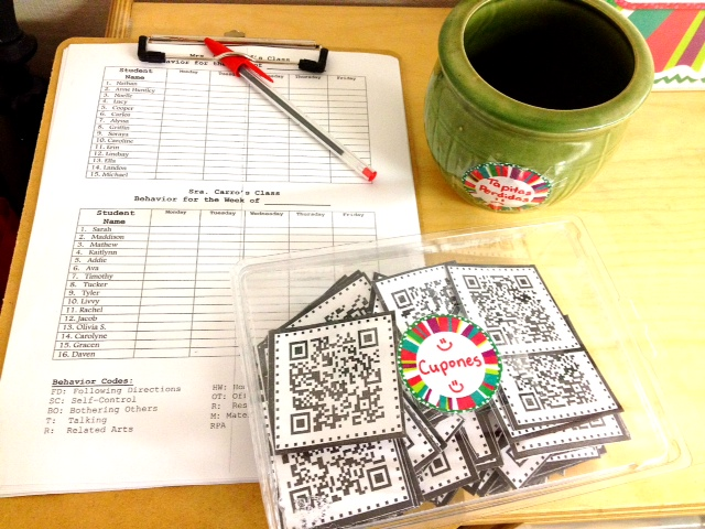http://www.teacherspayteachers.com/Product/QR-Code-Owl-Behavior-Coupons-FREEBIE-314490