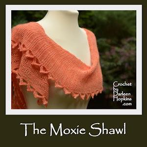 Moxie Shawl, Crochet Pattern