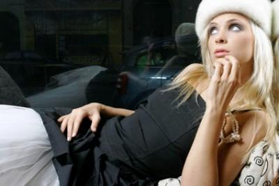 große Beute blonde Nacktheit