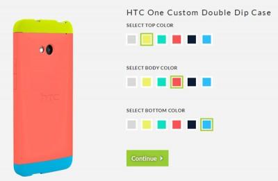 HTC Luncurkan Casing Multi Warna Untuk HTC One