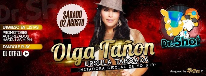 Olga Tañon de yo soy en Arequipa - 02 de agosto
