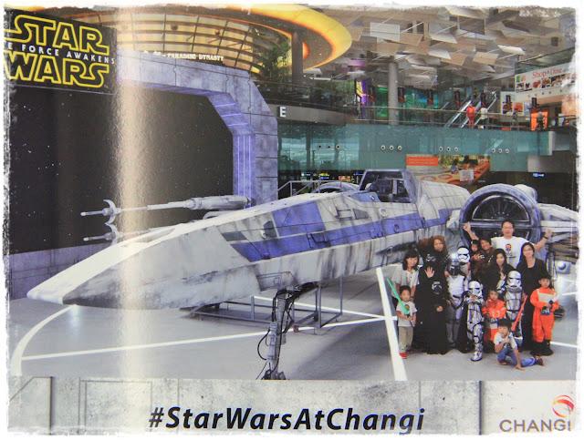Star Wars at Changi veron zhen Singapore Mom bloggers X-wing