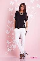 Pantaloni Artista Elegant Black Style