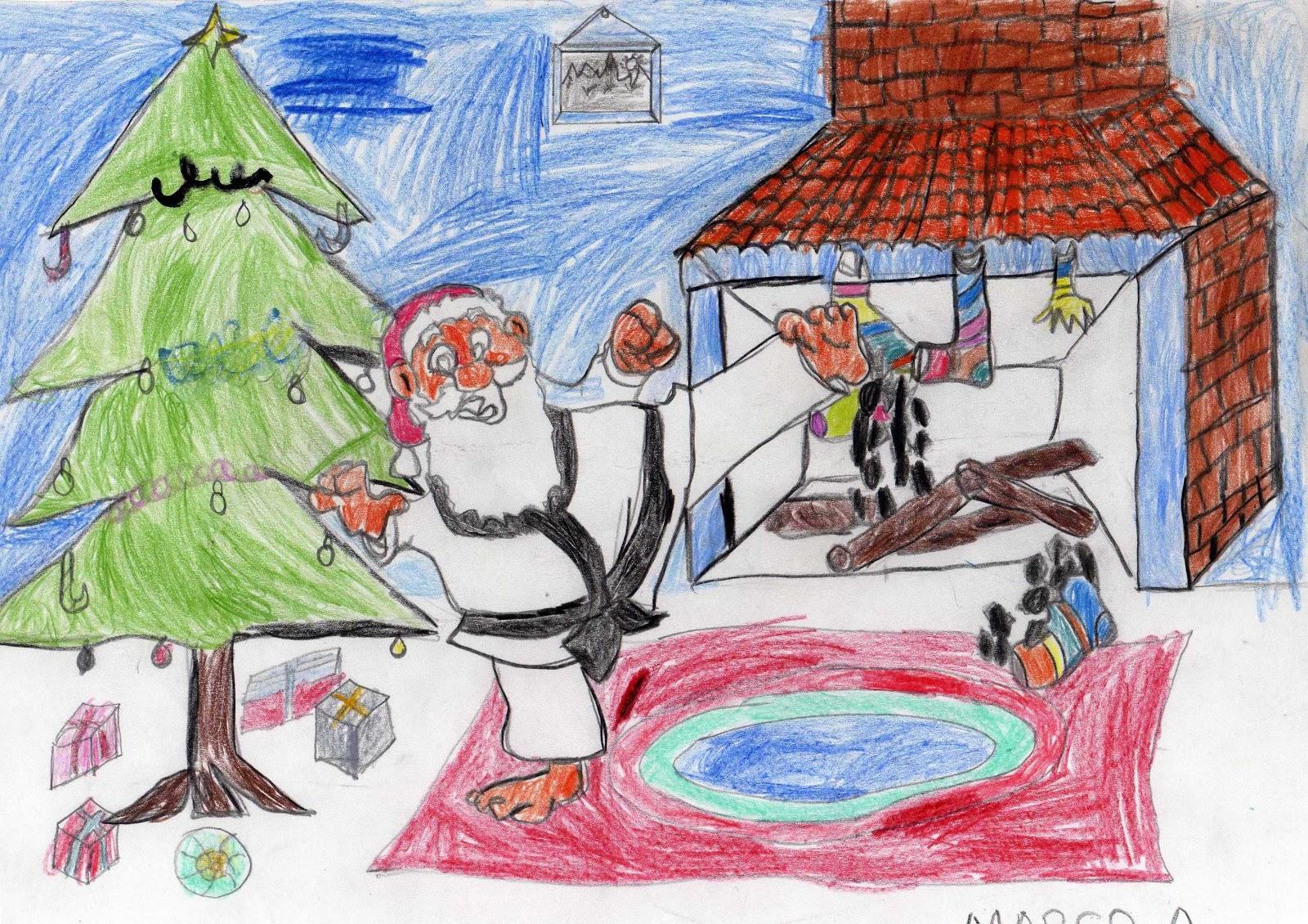 Dibujos de navidad para concursos