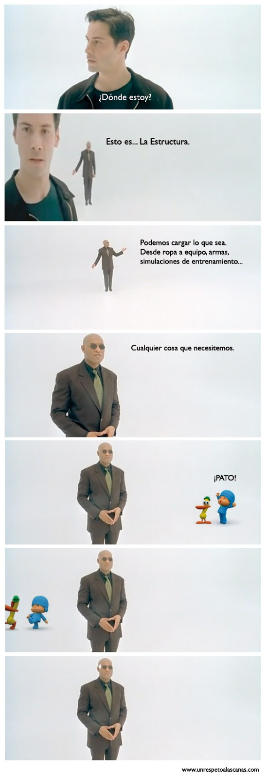 pocoyo en matrix