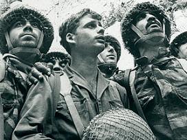 GUERRA DE LOS SEIS DÍAS (DESDE EL 05/06/1967 AL 10/06/1967) SOLDADOS DEL ESTADO DE ISRAEL