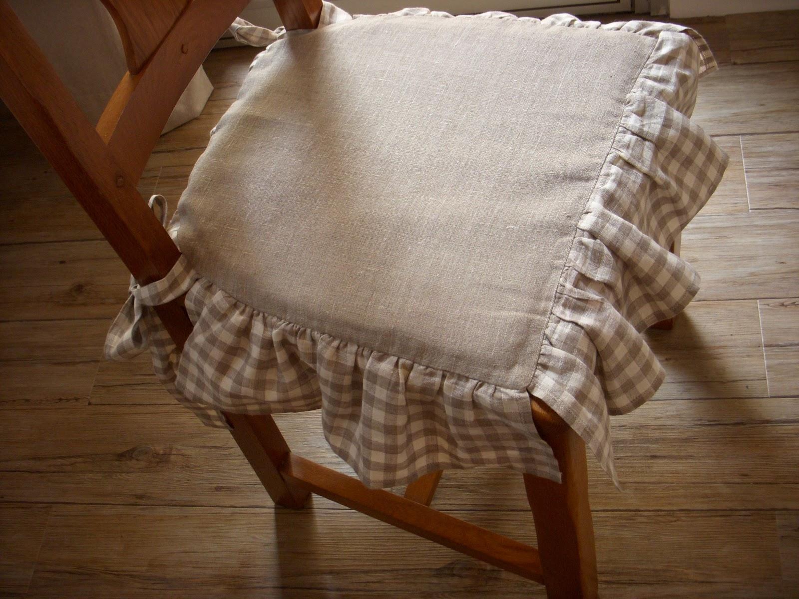 galette de chaise sur mesure
