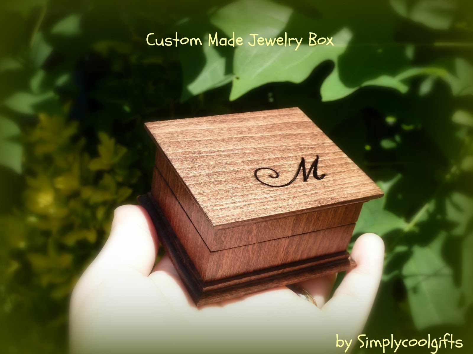 simplycoolgifts wedding ring box custom ring box