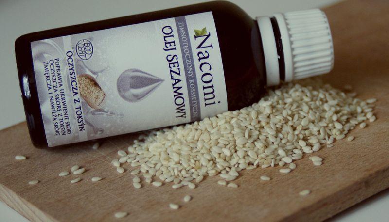 Nacomi olej sezamowy / Spa&Fit