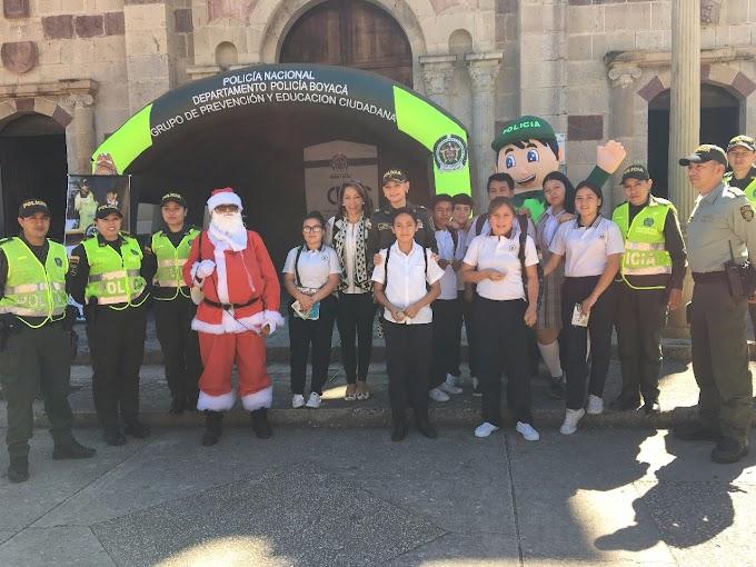 Policía Nacional lanza Plan Navidad en Soatá, Boyacá