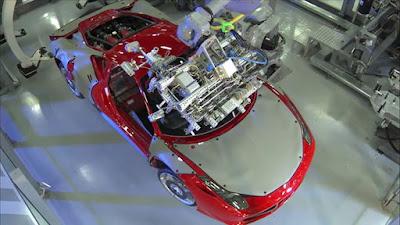Πως κατασκευάζεται μια Ferrari