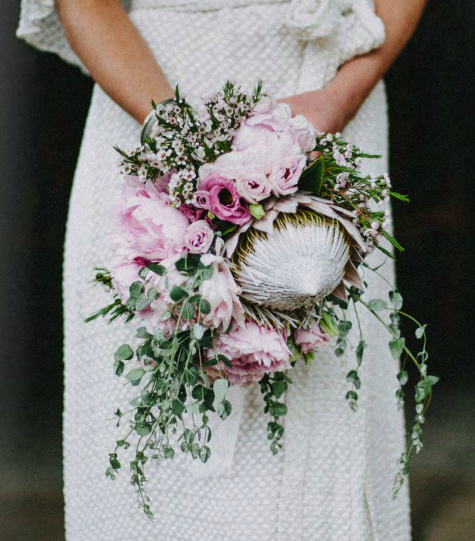 unique bouquet for the bride