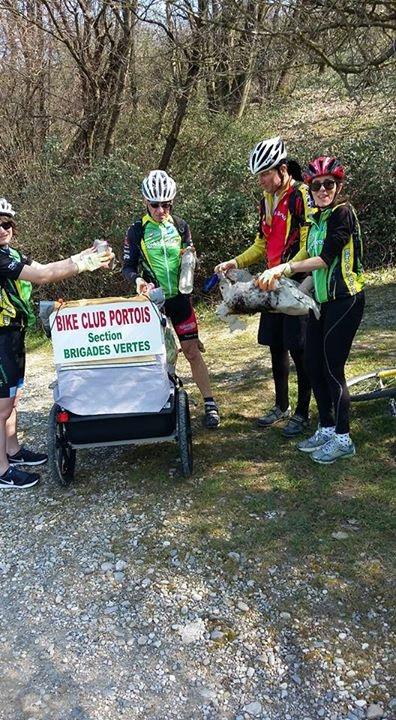 Brigades vertes, 60 kg de déchets sur 7 km !
