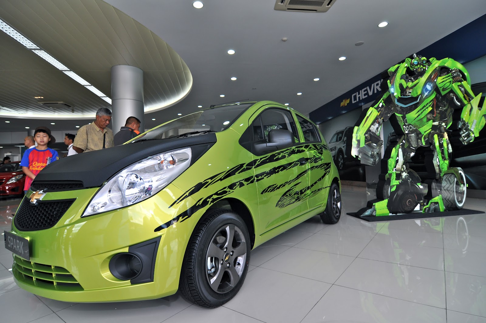 Ghk launch all new chevrolet spark