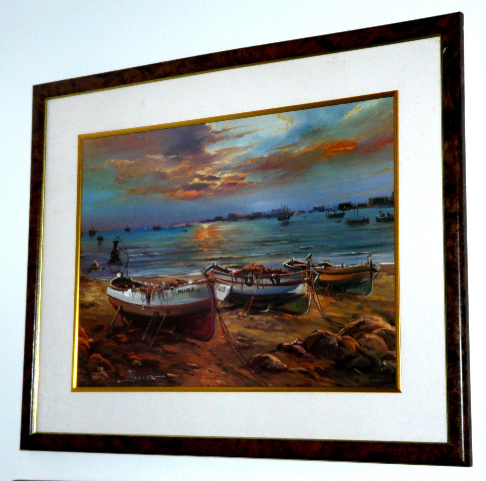 Tienda venta blogspot com es cuadros de barcas dos for Laminas cuadros
