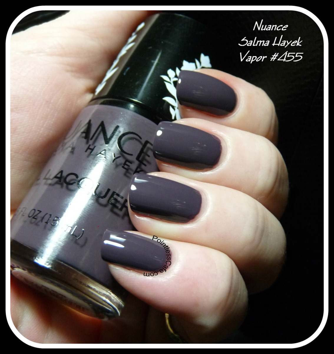 Nuance Polish by Salma Hayek - Vapor #455 - Swatches and Review ...