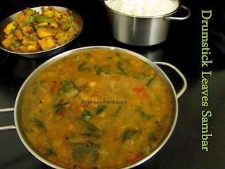 Drumstick Leaves Sambar
