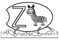 Alfabeto centopeia letra Z