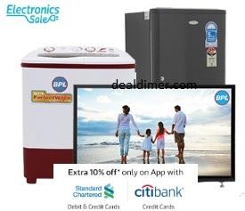 Citibank Credit Cards 10% Cashback Flipkart
