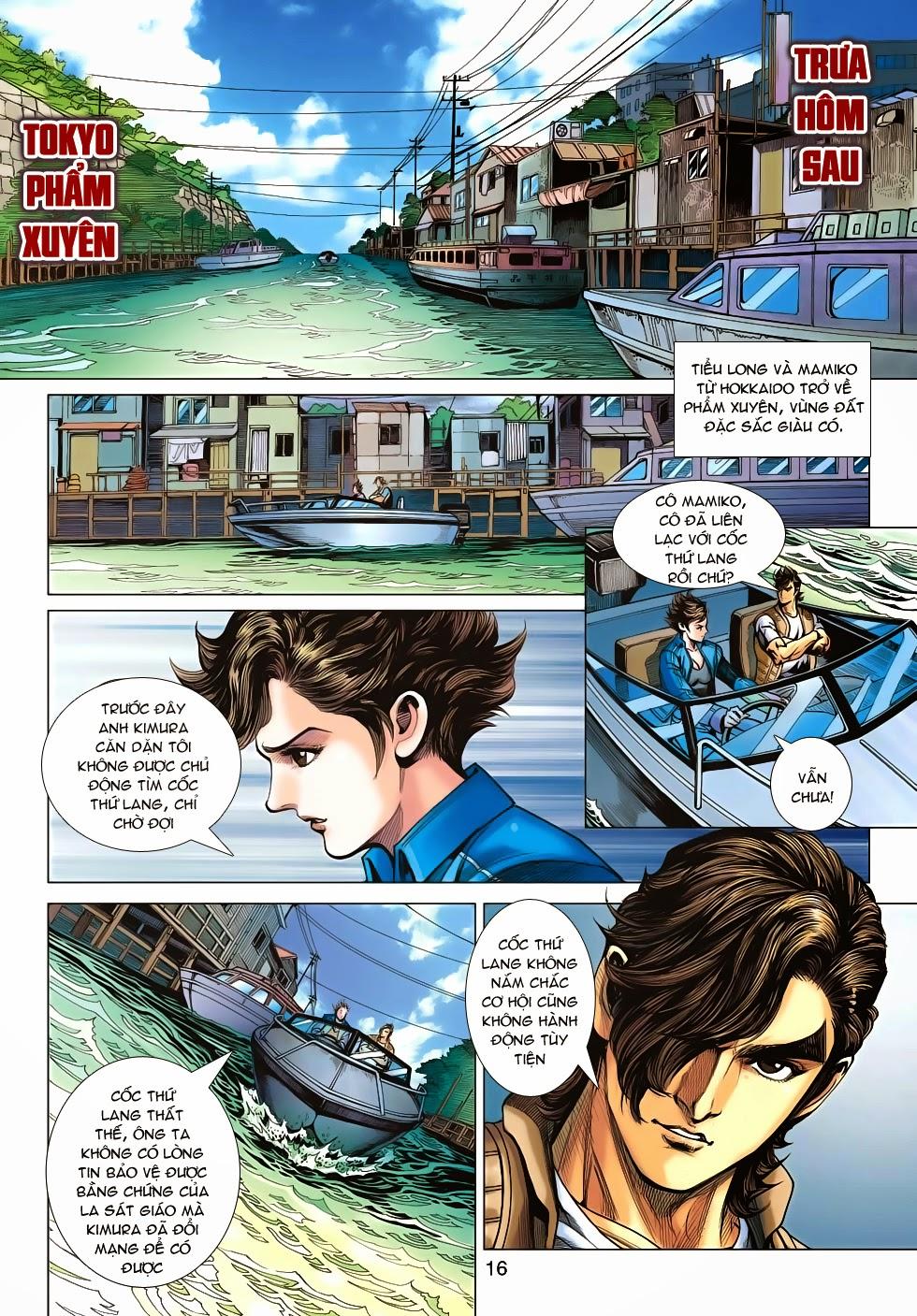 Tân Tác Long Hổ Môn chap 626 - Trang 16