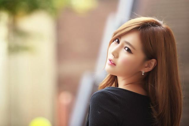 1 Han Ga Eun Outdoors - very cute asian girl-girlcute4u.blogspot.com