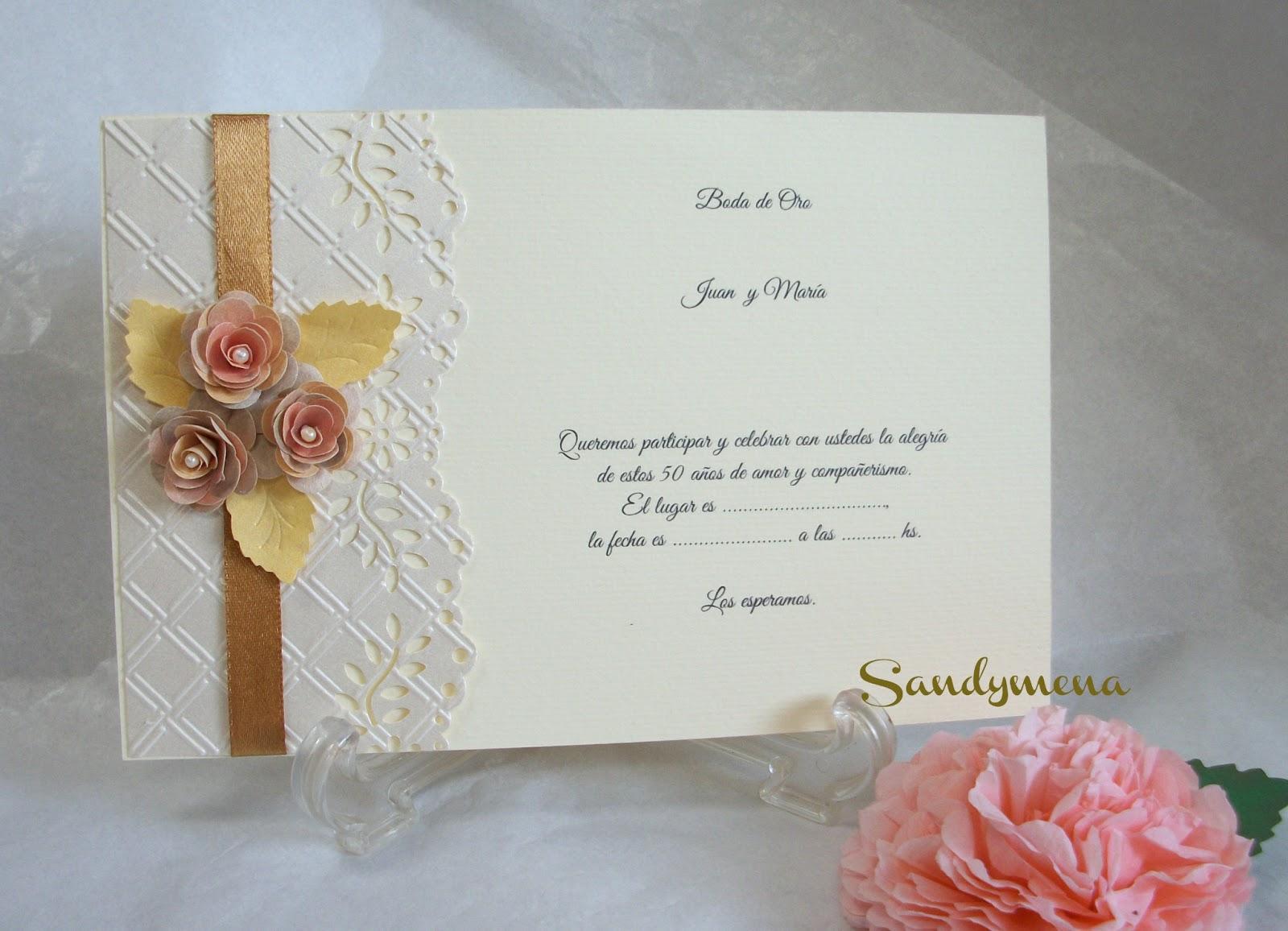 Tarjetas artesanales invitaciones de matrimonio - Modelos de tarjetas de boda ...