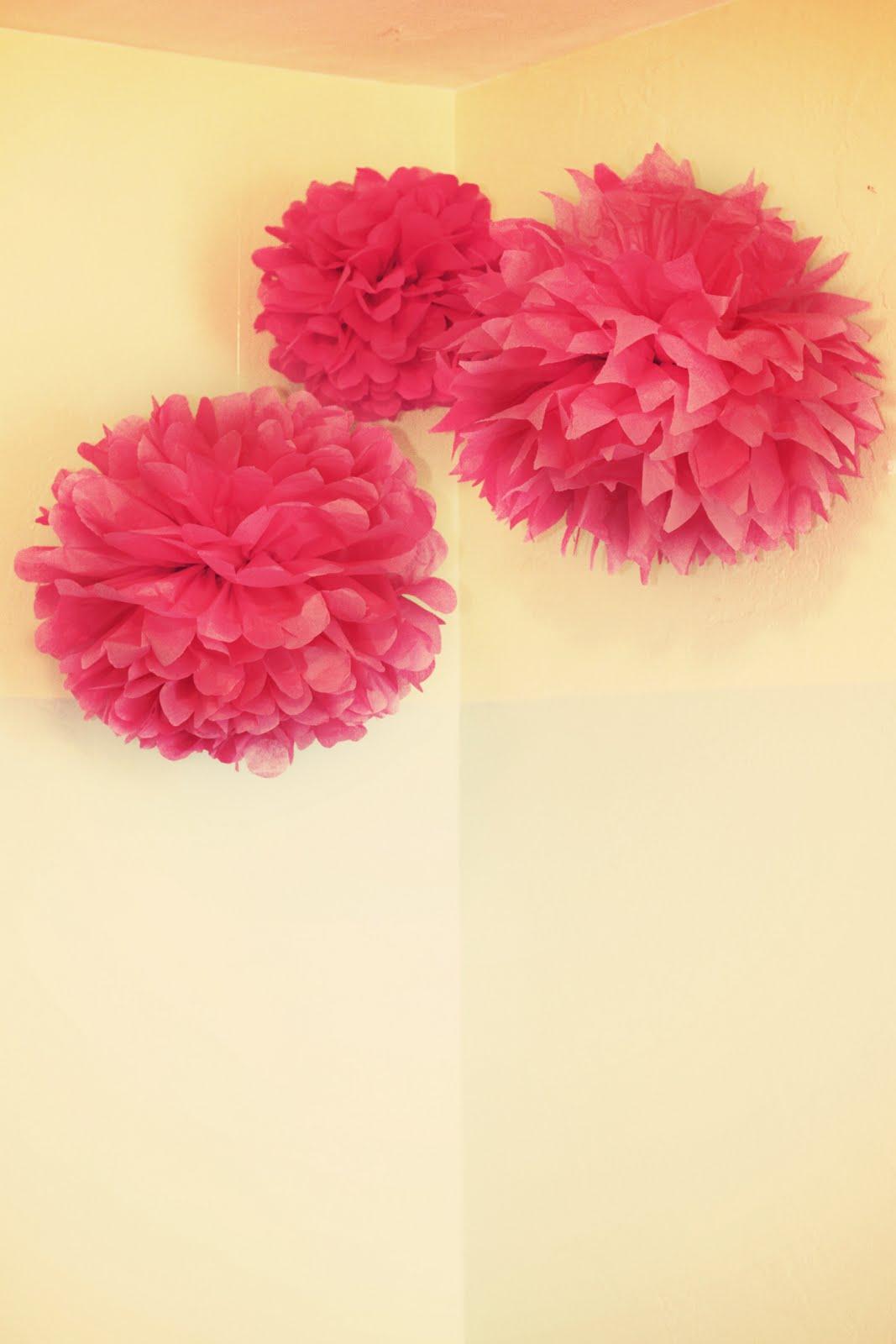 One Crafty Mama Paper Flower Puffs
