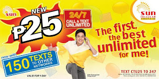 Unlimited call and text promo CTU25