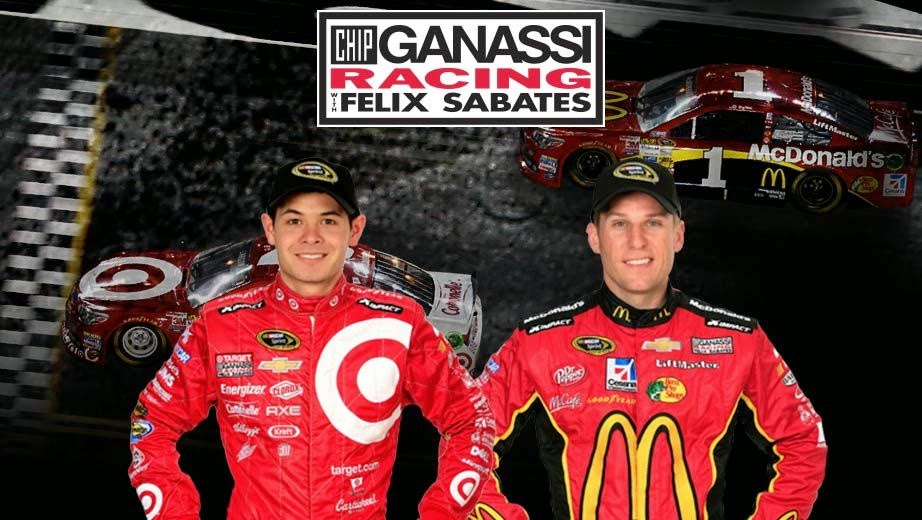 Chip Ganassi Racing = Kyle Larson and Jamie McMurray