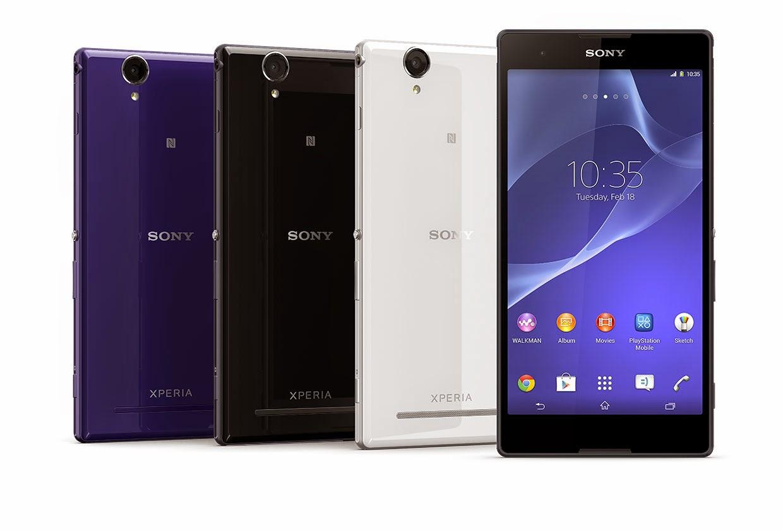 Harga dan Spesifikasi Sony Xperia T2 Ultra