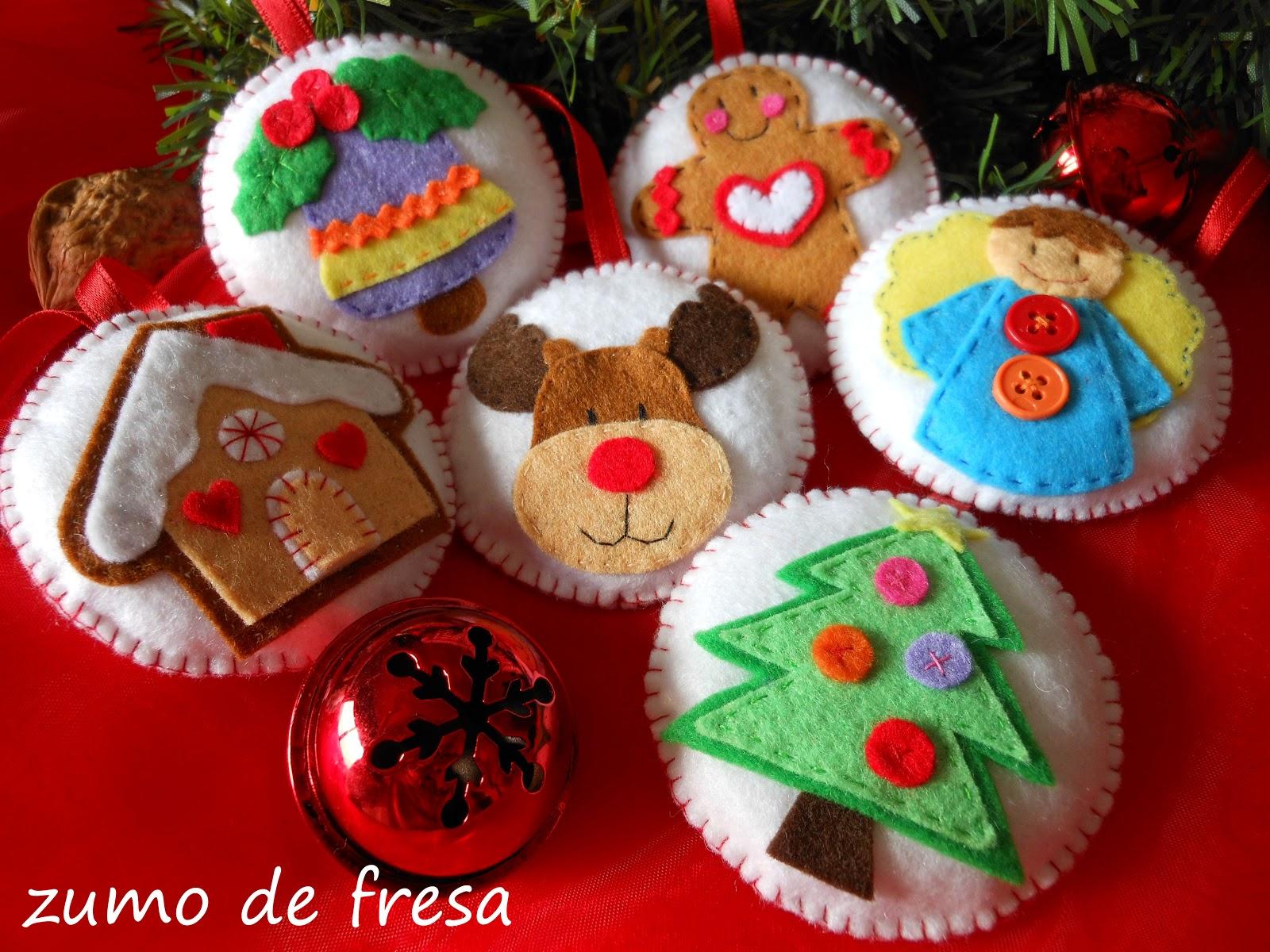 Zumo de fresa bolas de navidad - Como hacer zumo de fresa ...