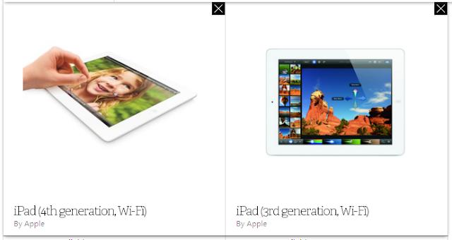 iPad 4 VS iPad 3