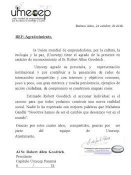 UMECEP Carta
