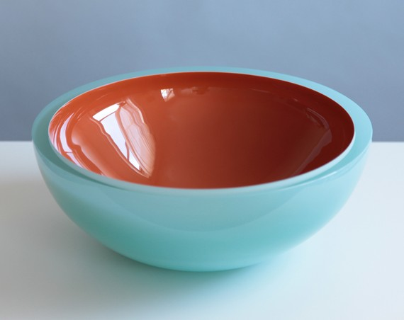 Lastly, I would take in the beauty of this stunning glass bowl by ...