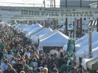 , as the 22nd Annual Irish Fall Festival kicks into high gear today