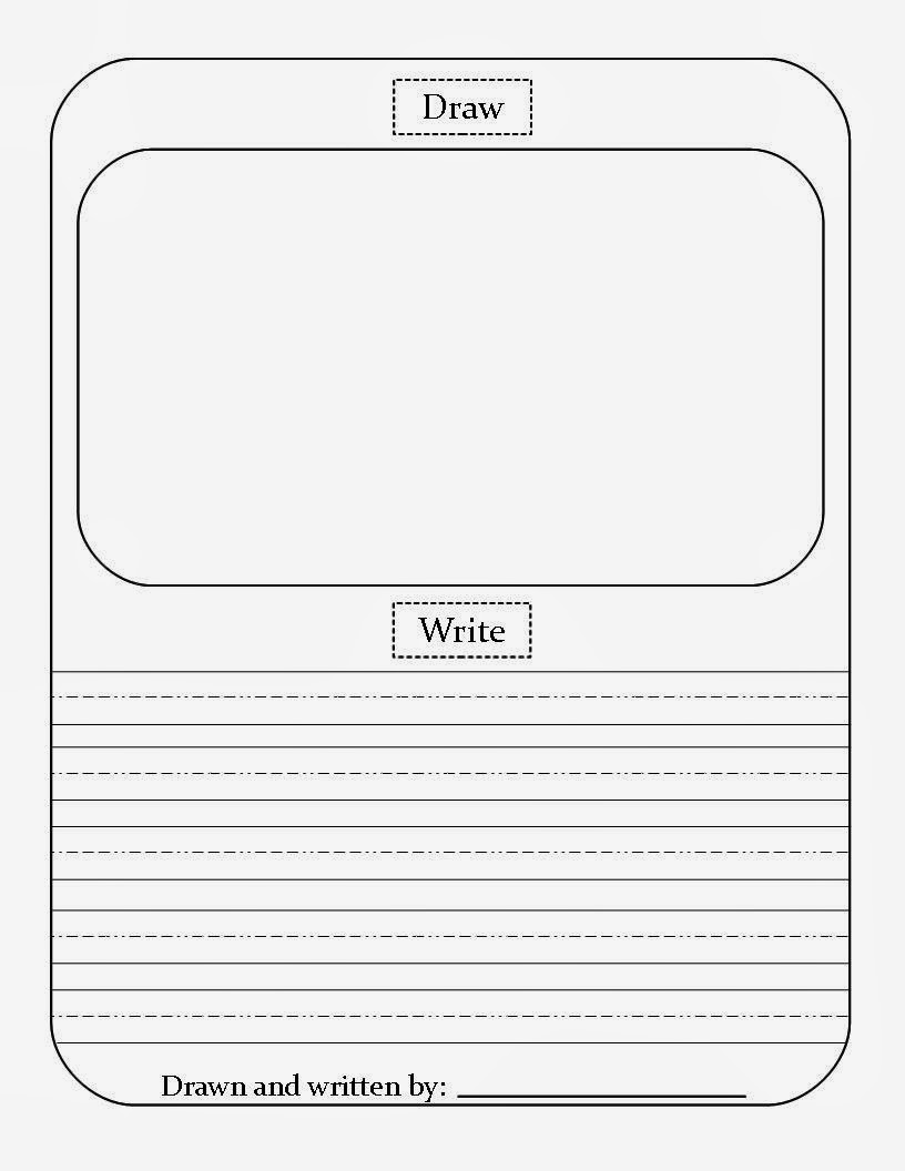 Drawing Box Template Pictures to Pin PinsDaddy – Lined Paper with Drawing Box