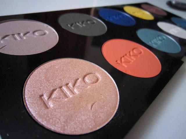 palette pour fards kiko