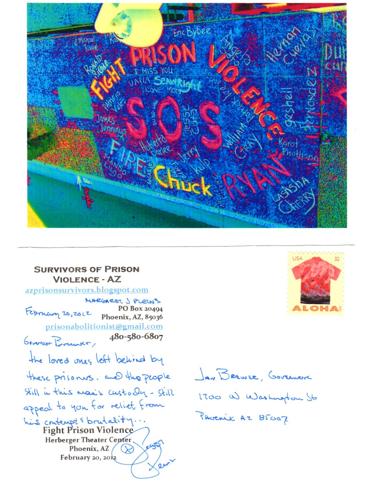 Arizona prison watch february 2012 anyone who is similarly moved to communicate with the governor may want to do so in a public forum so you cant be as easily ignored thecheapjerseys Image collections
