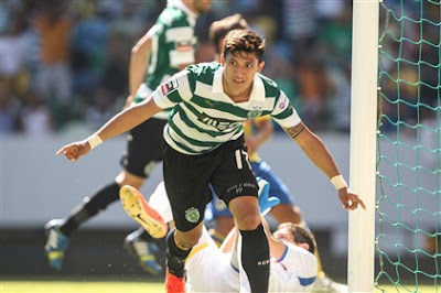 Golos do Sporting CP - FC Arouca 1ª Jornada 2013-2014