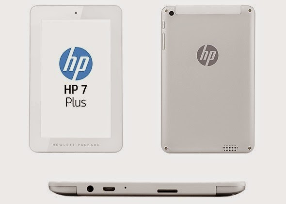 HP 7 Inch Android Tablet Specs