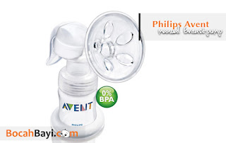 Pompa ASI Avent, Avent Manual Breastpump