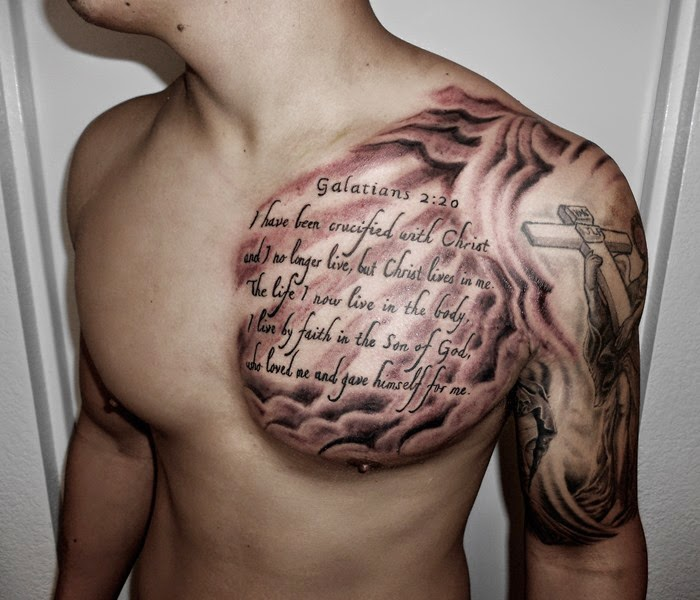 Shoulder Tattoo for Men