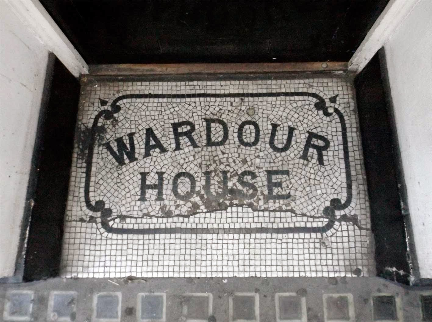 wardour house floor mosaic soho