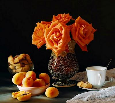 bodegon-con-rosas-y-frutas