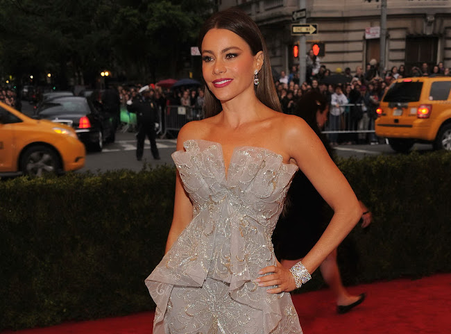SOFIA VERGARA photos from 2012 Metropolitan Museum of Art's Costume Institute Gala